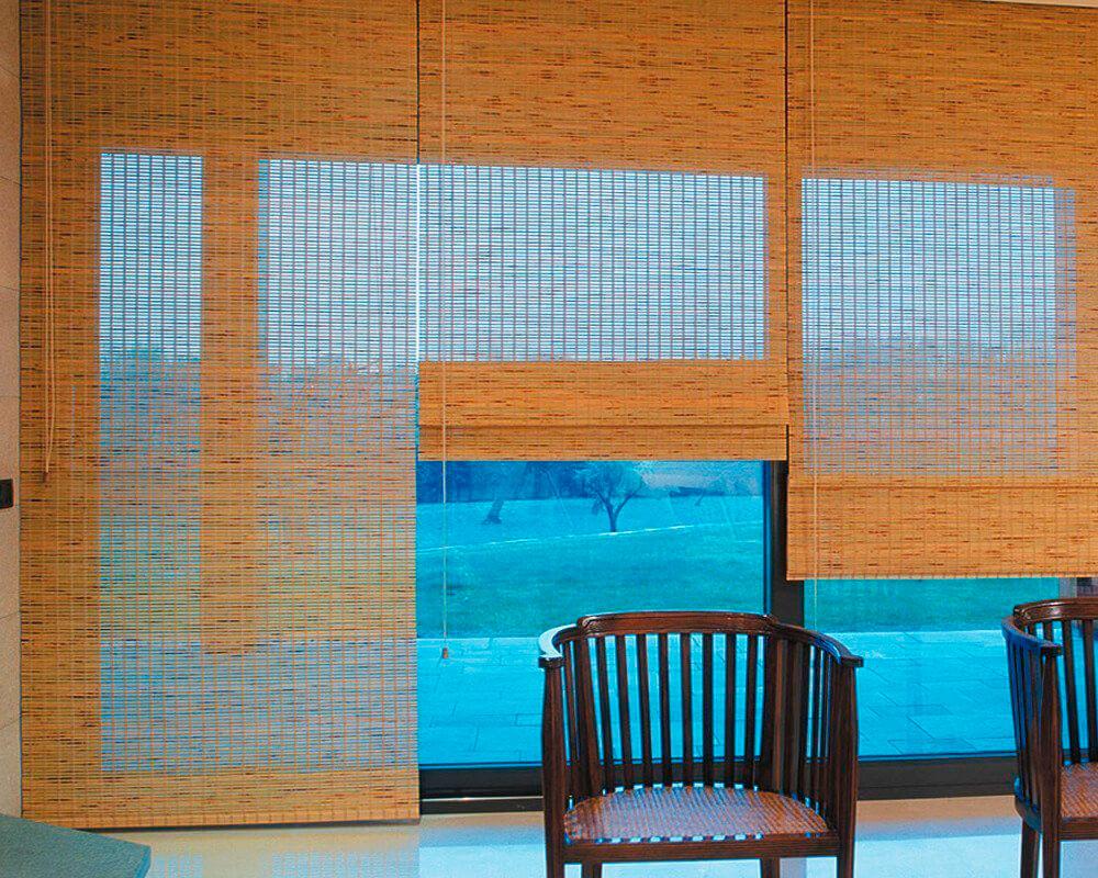 Persianas de bambu para exterior with persianas de bambu para exterior good shutters with - Estores de bambu para exterior ...